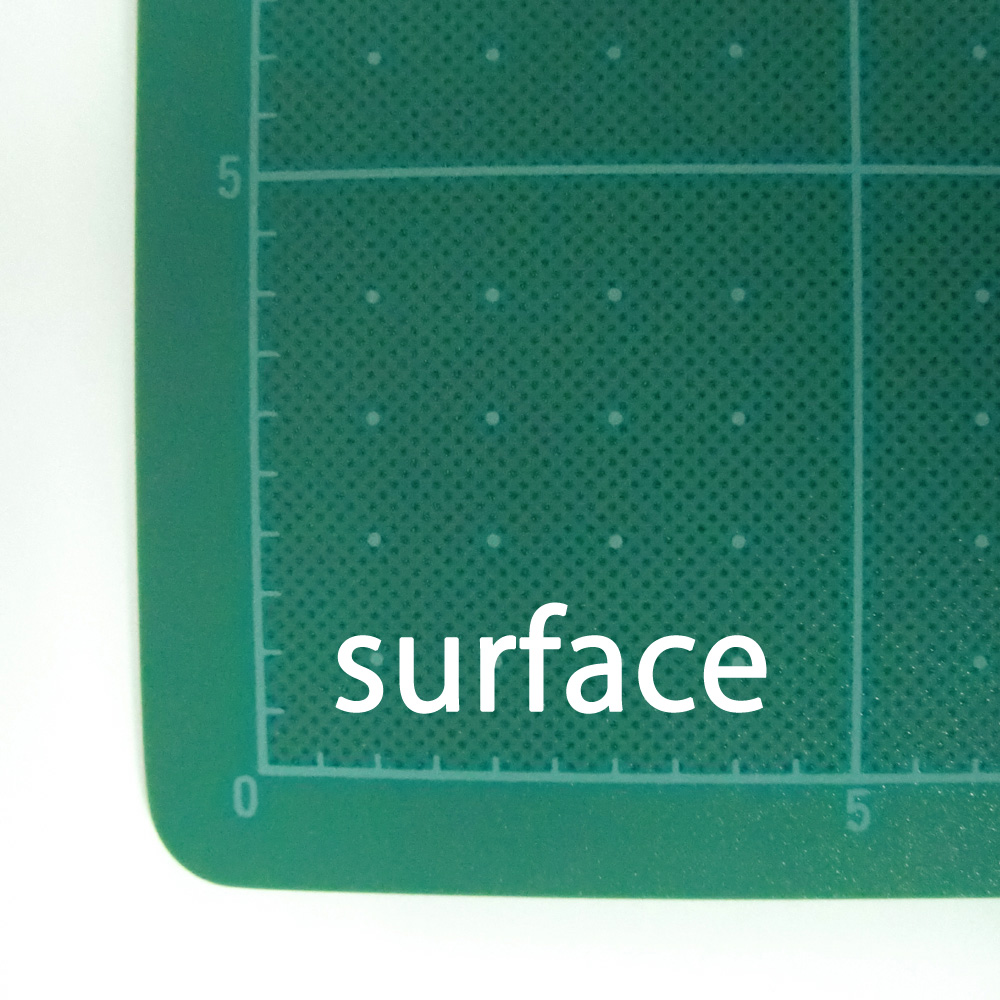 Transparent white cutting mat A3//A2//A1 Thickness of 3mm NT Cutter Made in Japan