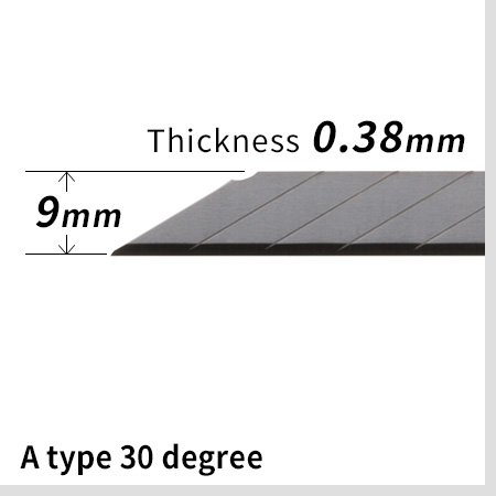 AD type 30 degree blade